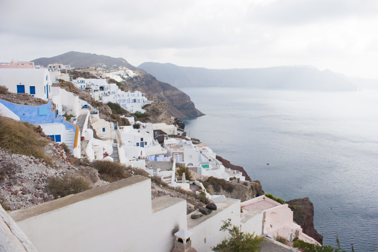 Exploring Oia, Santorini - Greece