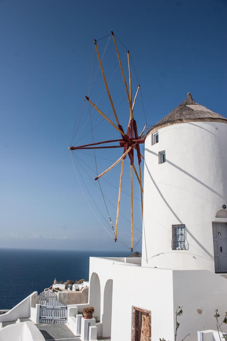 Exploring Oia, Santorini