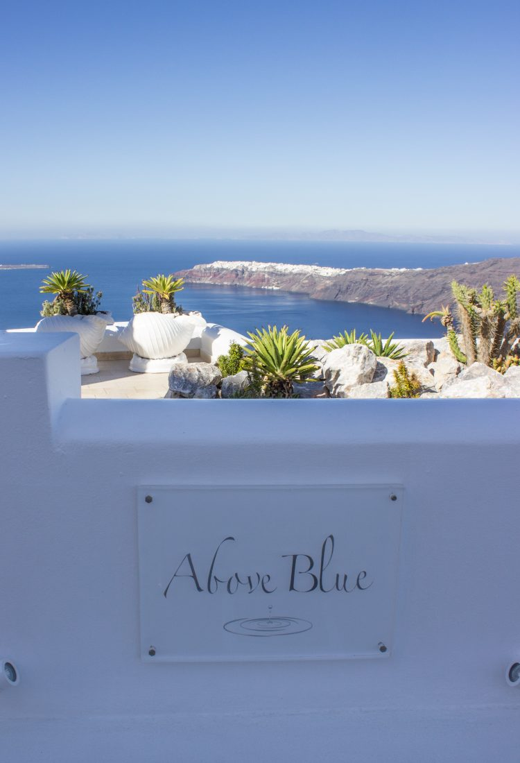 Above Blue Suites, Santorini