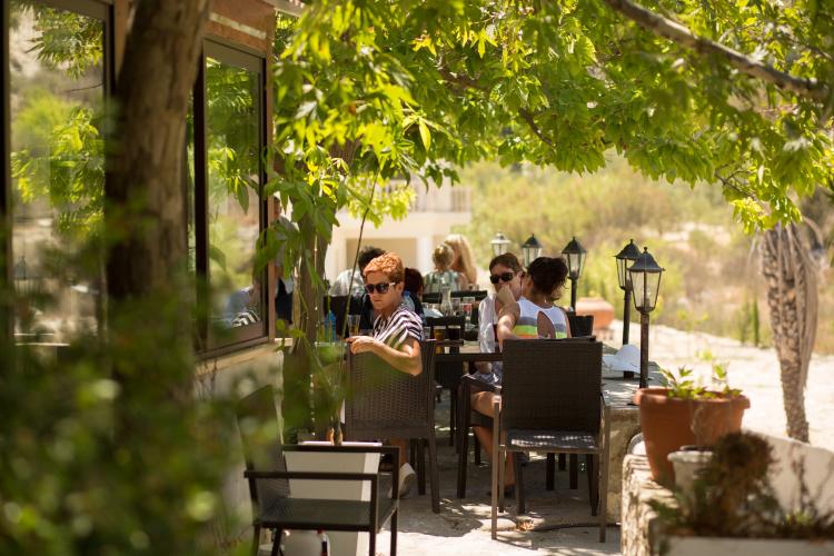 beer tasting Aphrodites rock Brewery Cyprus