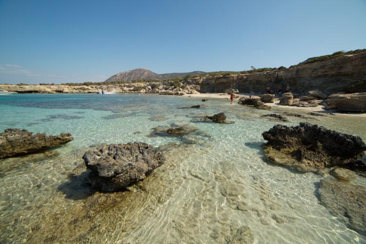 Lara beach and Blue Lagoon, Cyprus