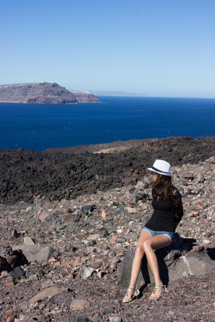 Nea Kameni, Santorini
