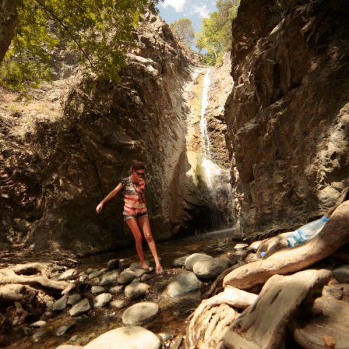 waterfalls in Cyprus