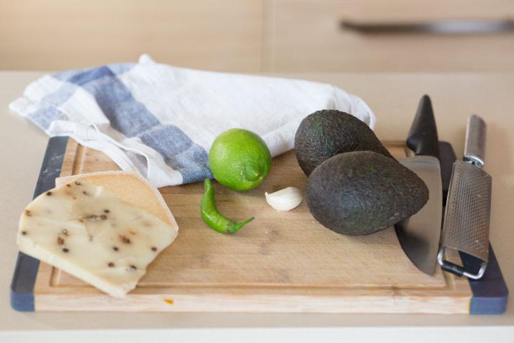 avocado pasta recipe