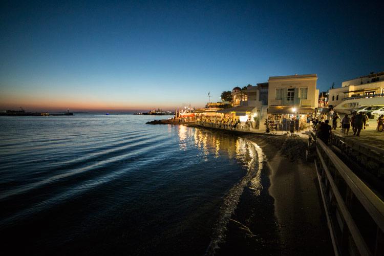 Mediterranean Cruise Day One: Mykonos