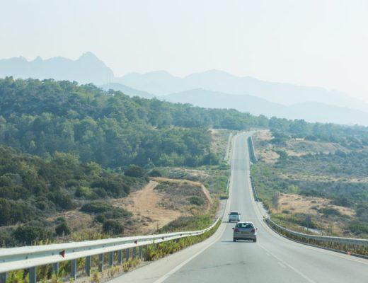 north cyprus road trip
