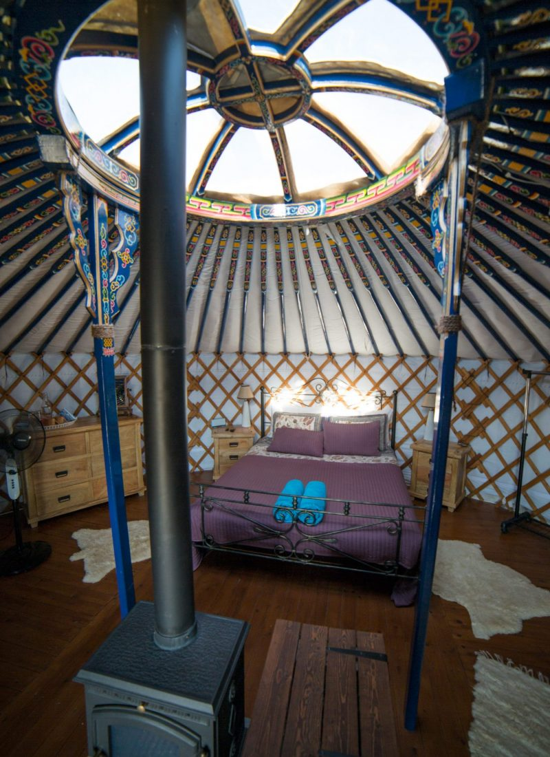 Yurts in Cyprus, Sarama Valley