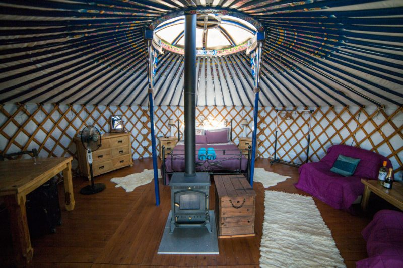 Yurts in Cyprus, Sarama Valley