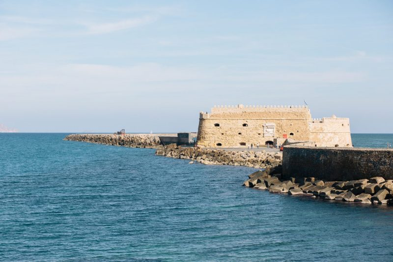 Arriving in Heraklion, Crete
