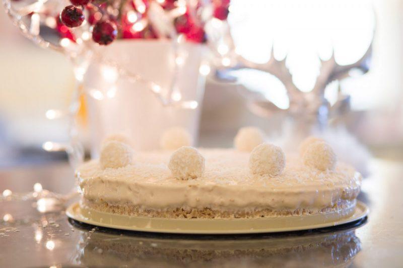 Baileys Cheesecake with Raffaello