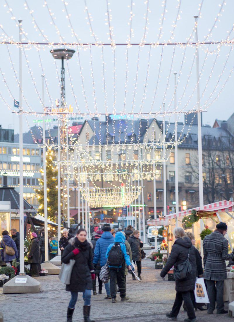 Christmas Markets in Turku, Finland