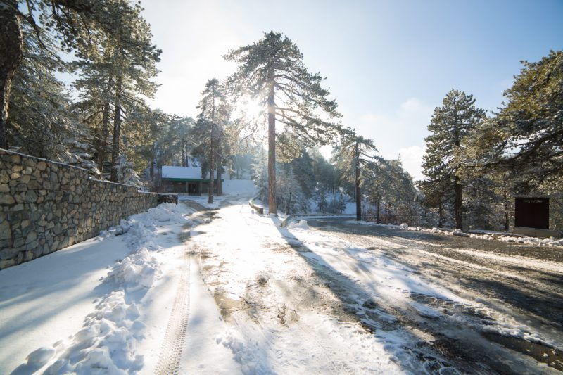 First Snow in Troodos