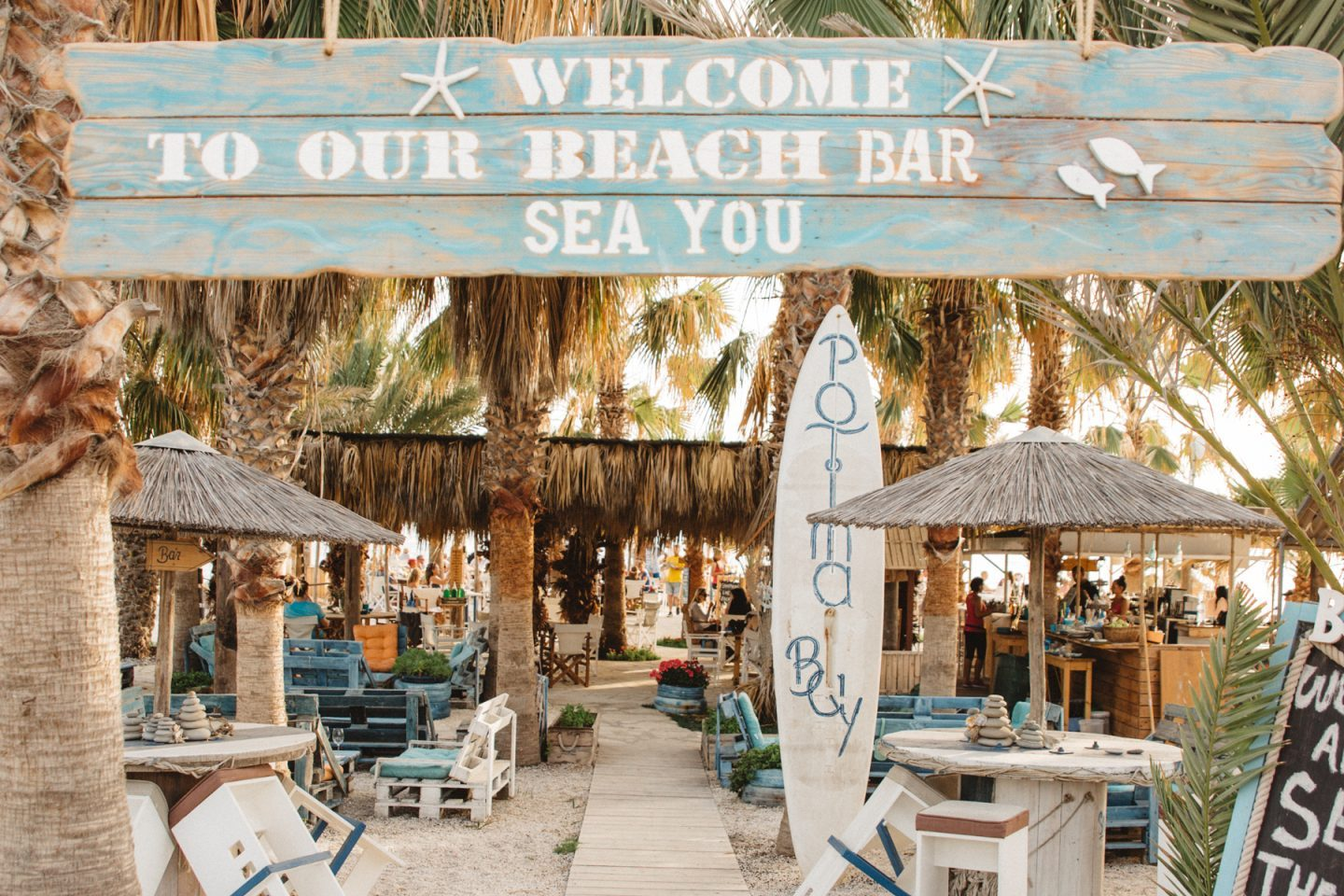 Sea You Beach Bar, Potima Bay – Paphos