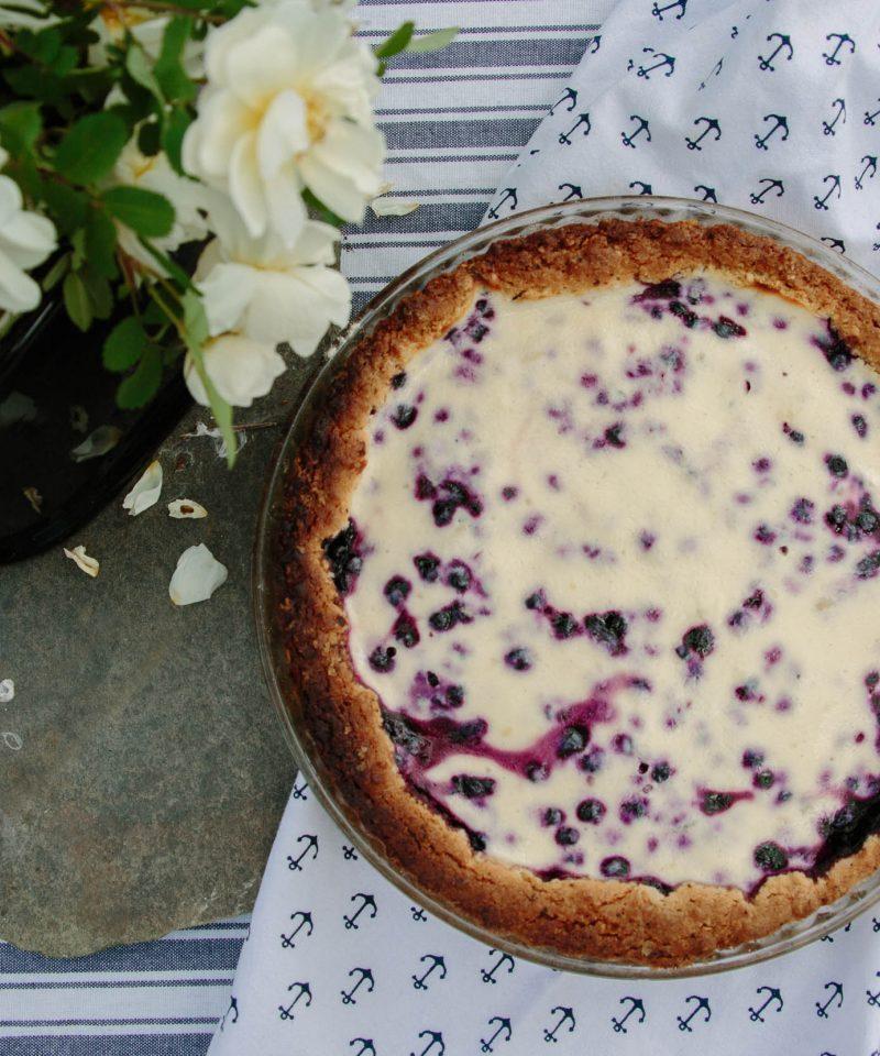 finnish blueberry pie