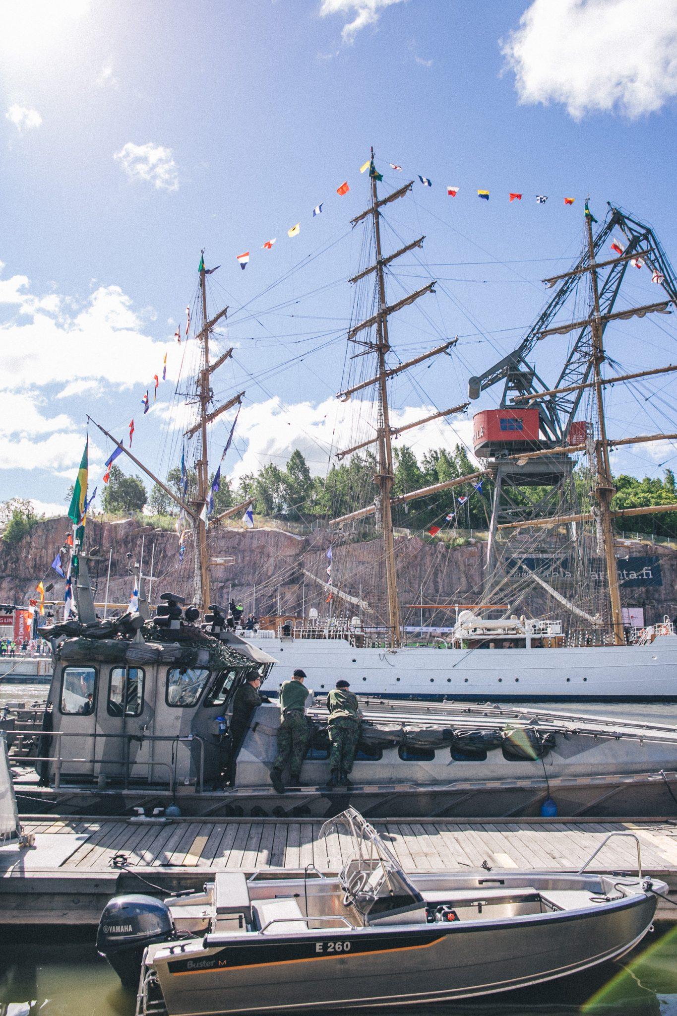 Tall Ship Races in Turku, Finland