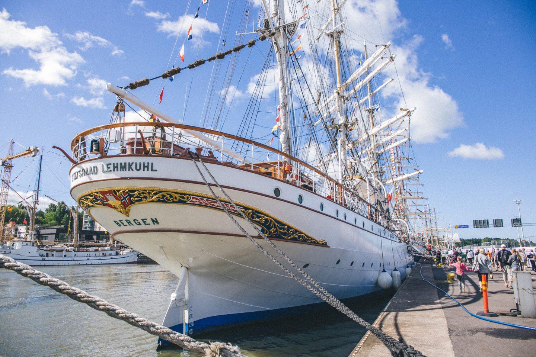 tall ship races turku 2017