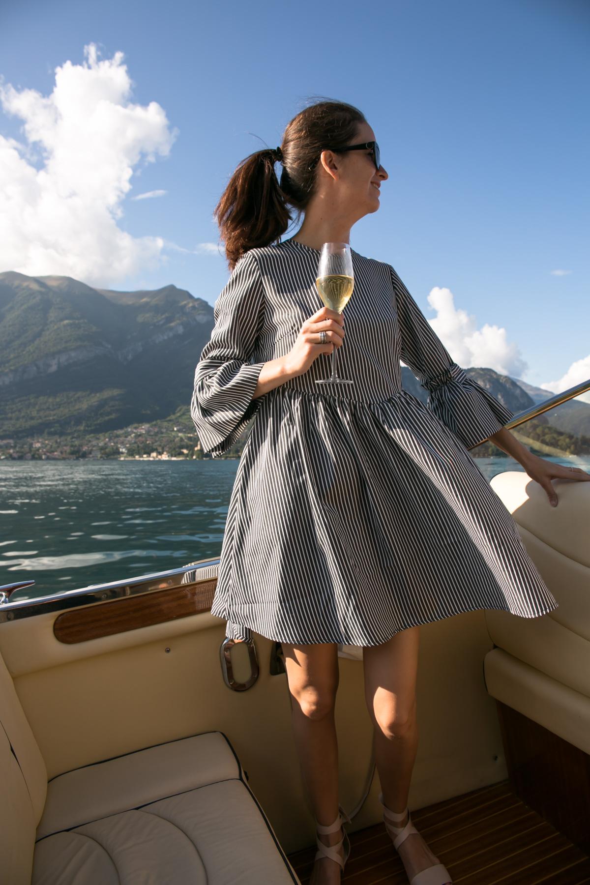 boat trip lake como