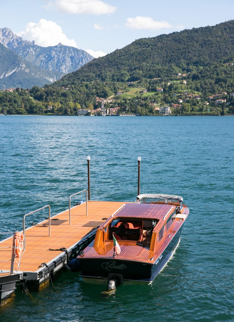 Boat Trip on Lake Como, Italy