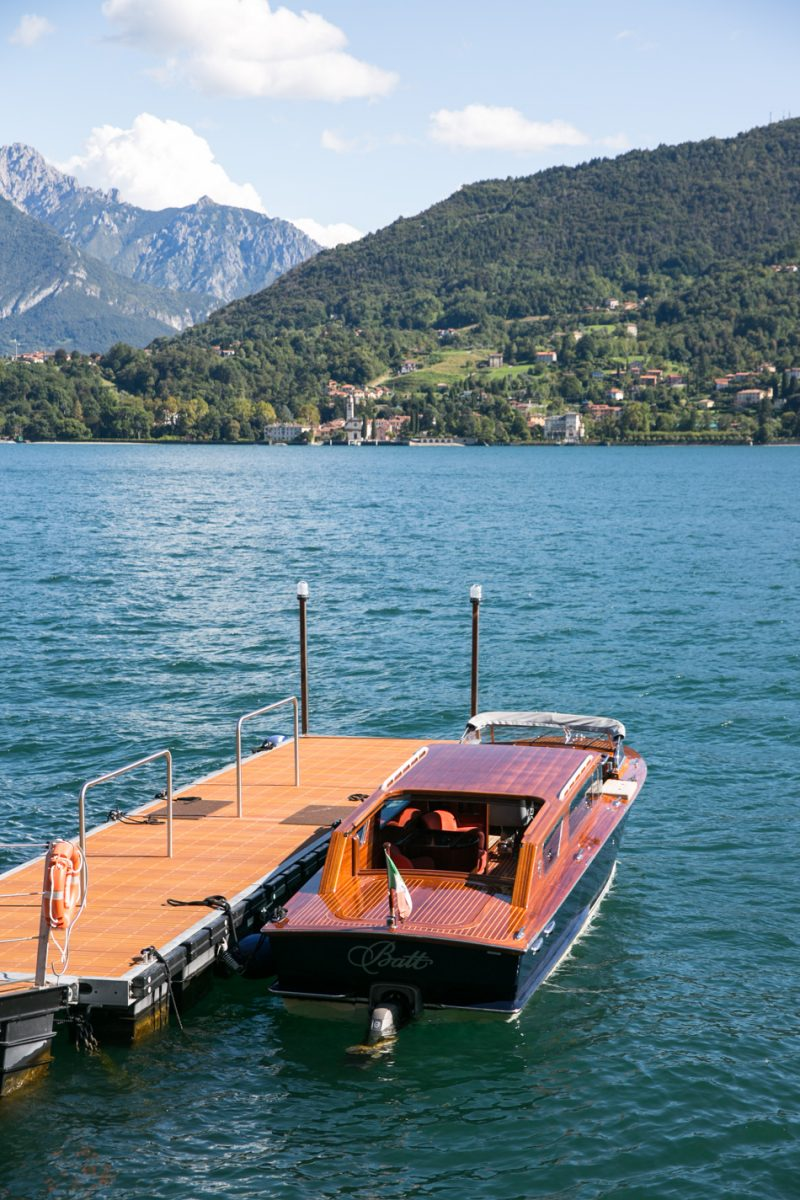 Boat Trip on Lake Como, Italy