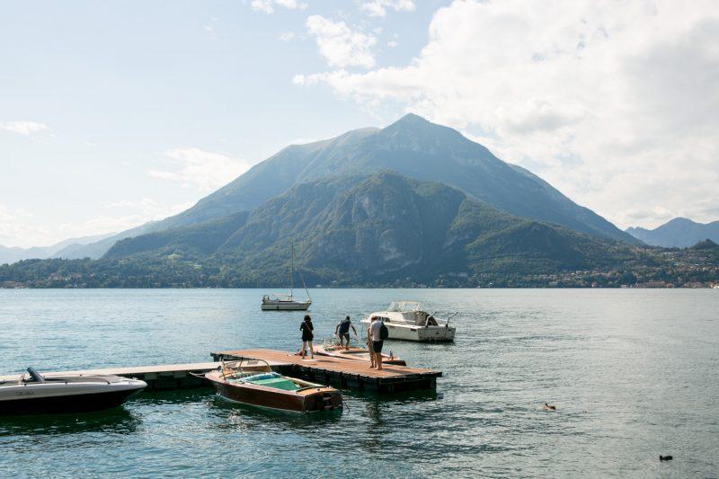 Last Day in Varena, Lake Como