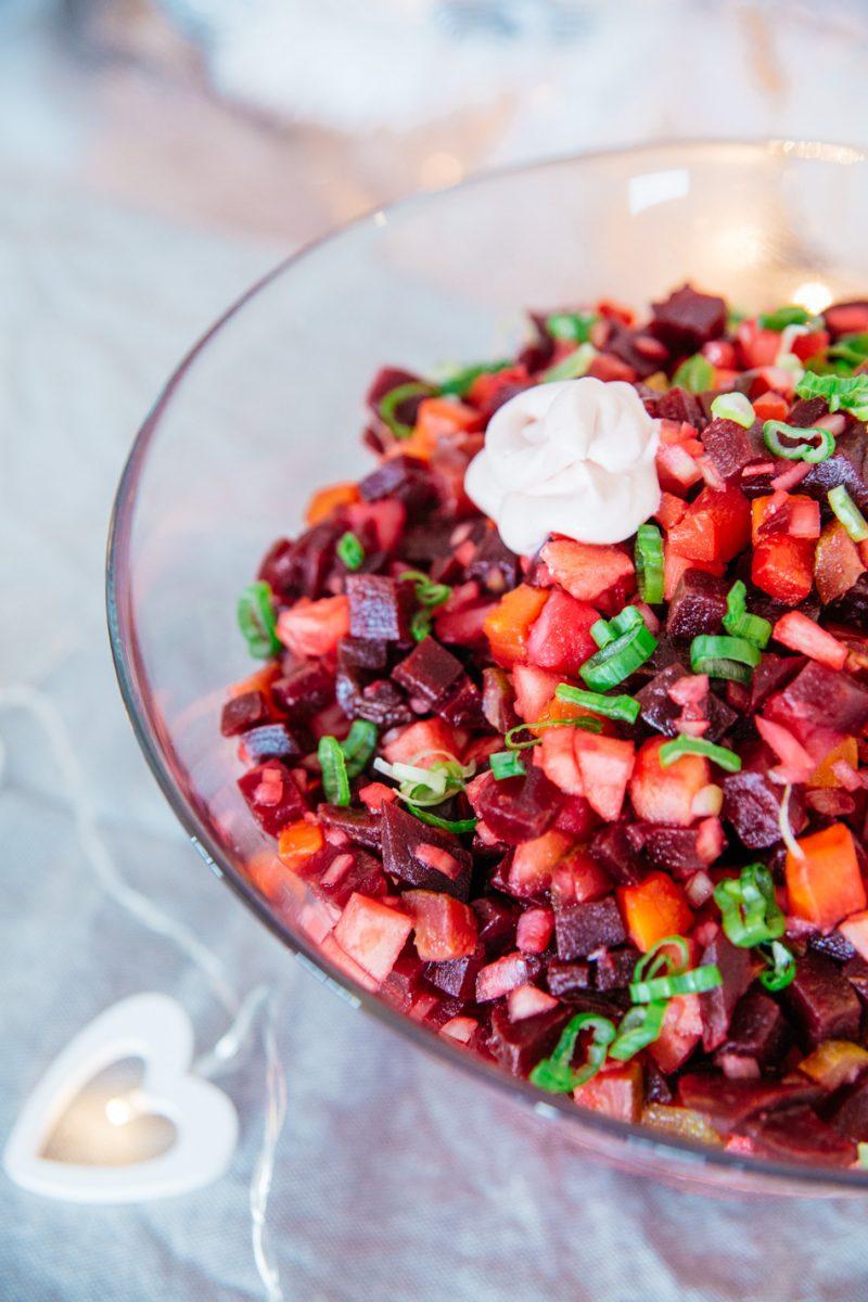 "Finnish ""Rosoli"" Beetroot Salad"