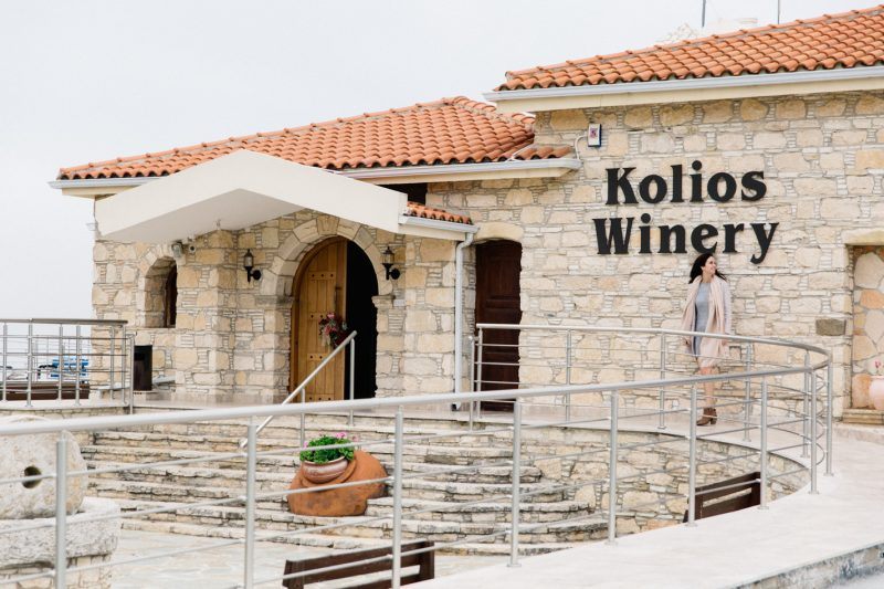 Wine Tasting at Kolios Winery