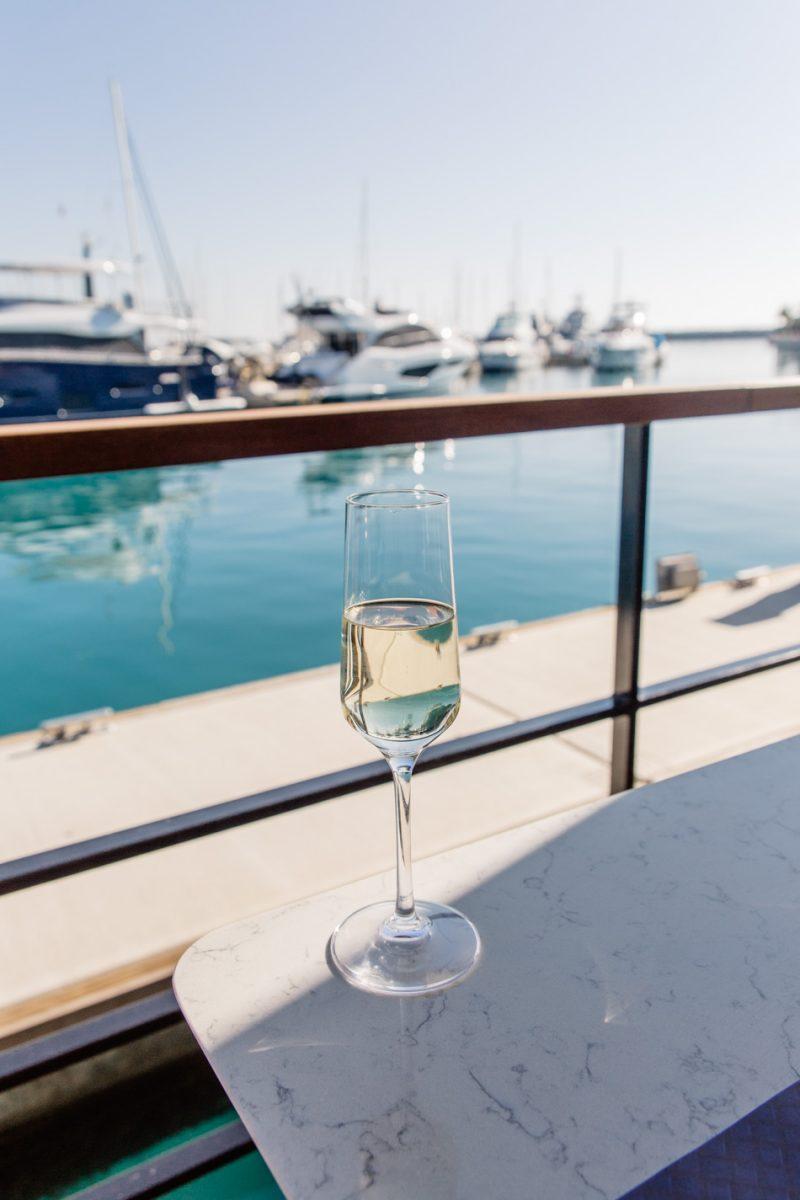 Lunch in Limassol Marina