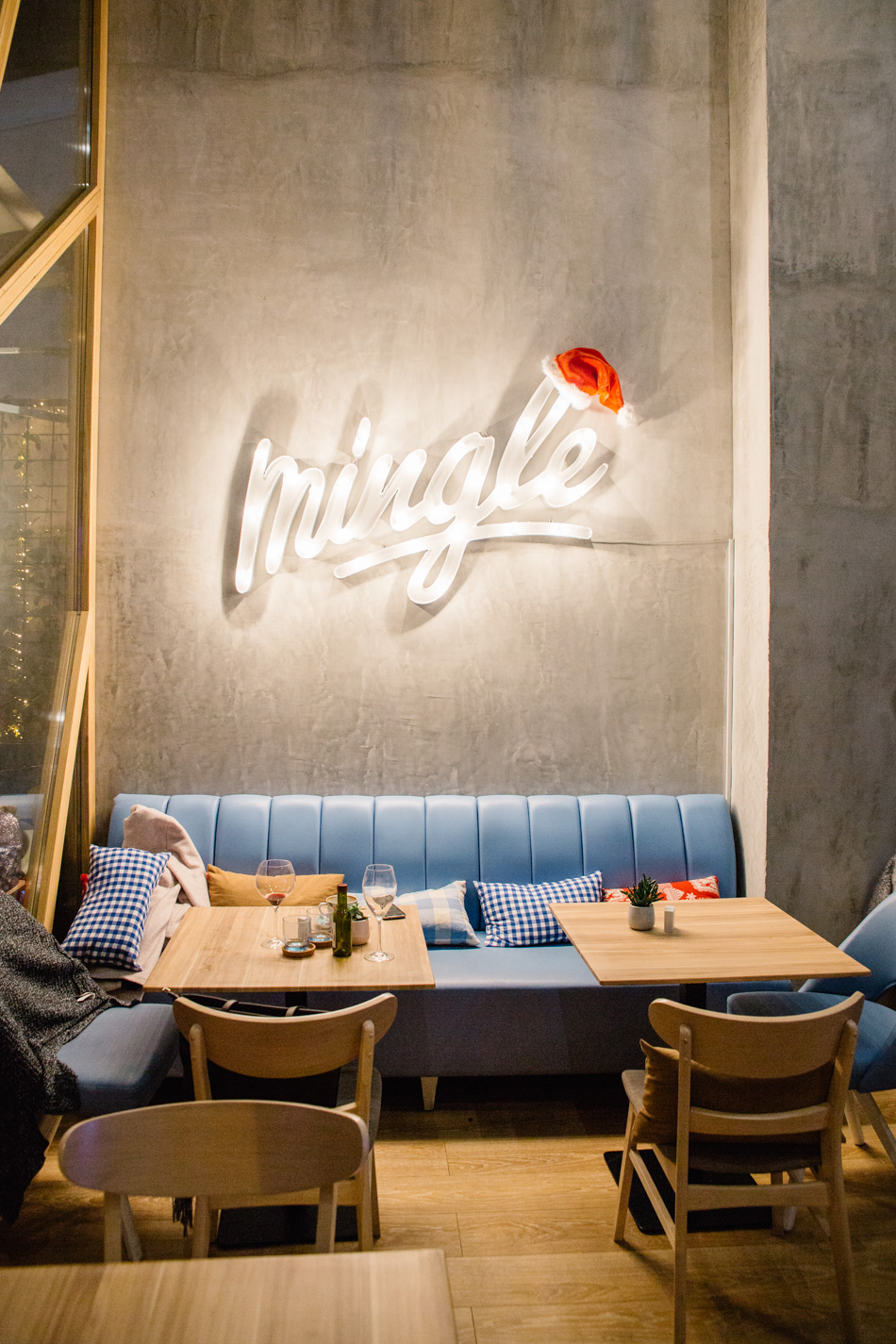 Late Lunch at Mingle Cafe, Larnaca