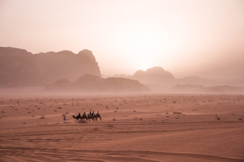 Night in the Desert, Wadi Rum