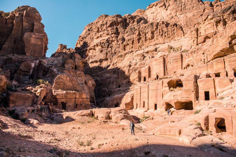 The Lost City of Petra, Jordan