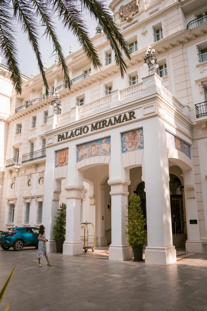 The Glamorous Gran Hotel Palacio Miramar, Malaga
