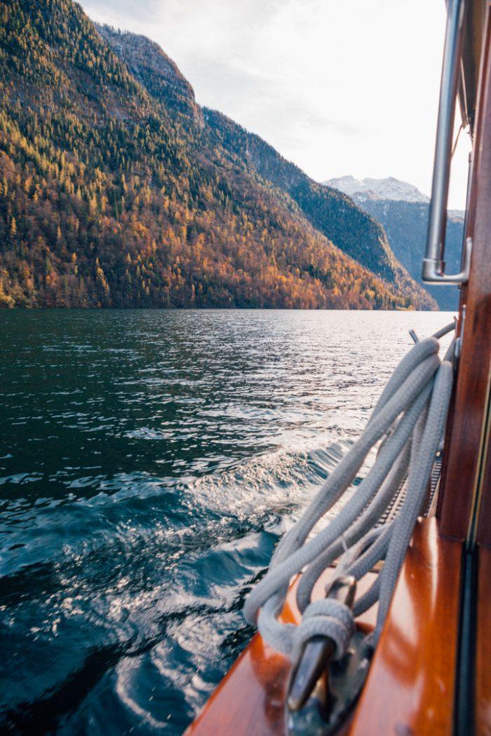 Boat Ride at Lake Königssee, Bavaria