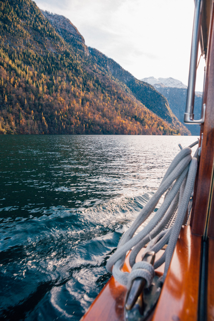 Boat Ride at Lake Königssee, Bavaria