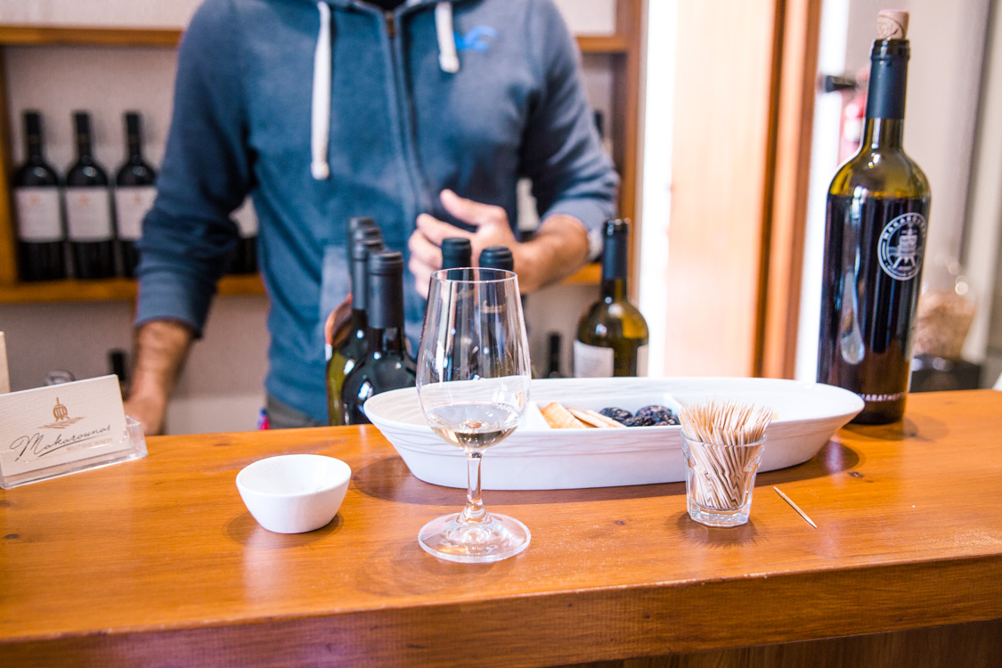 Makarounas winery letympou