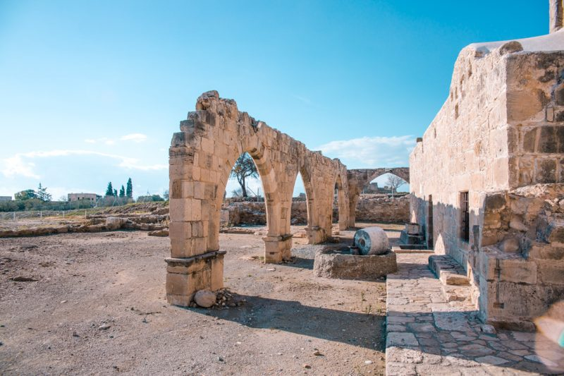 Sanctuary of Aphrodite at Palae Pafos, Cyprus