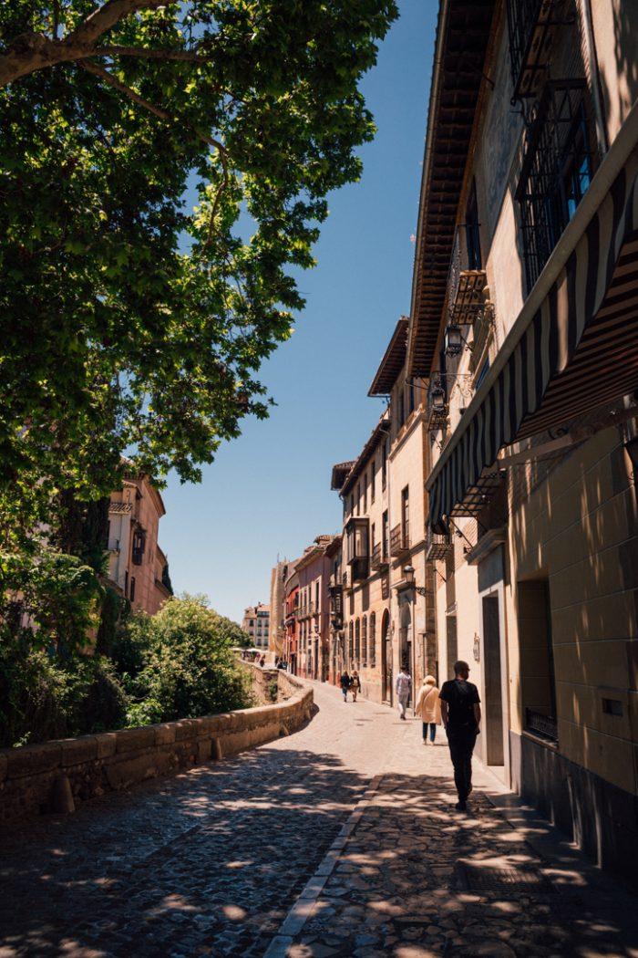 The Charming Albaicin Neighbourhood of Granada