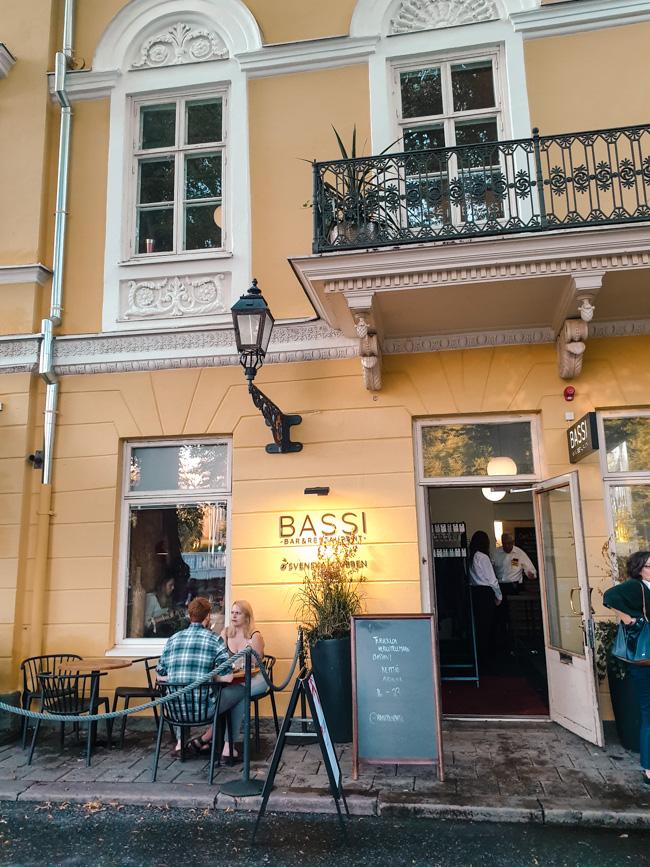 Bassi Restaurant, Turku