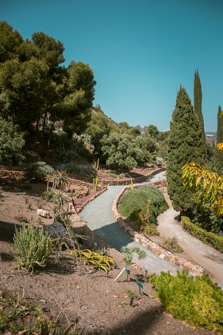La Conception Botanical Garden Malaga (Jardin Botanico La Conception) Spain