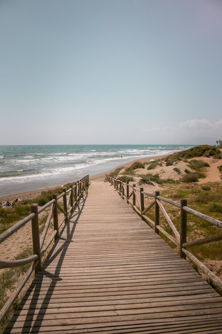 Cabopino Sand Dunes, Fuengirola, Andalusia - Spain