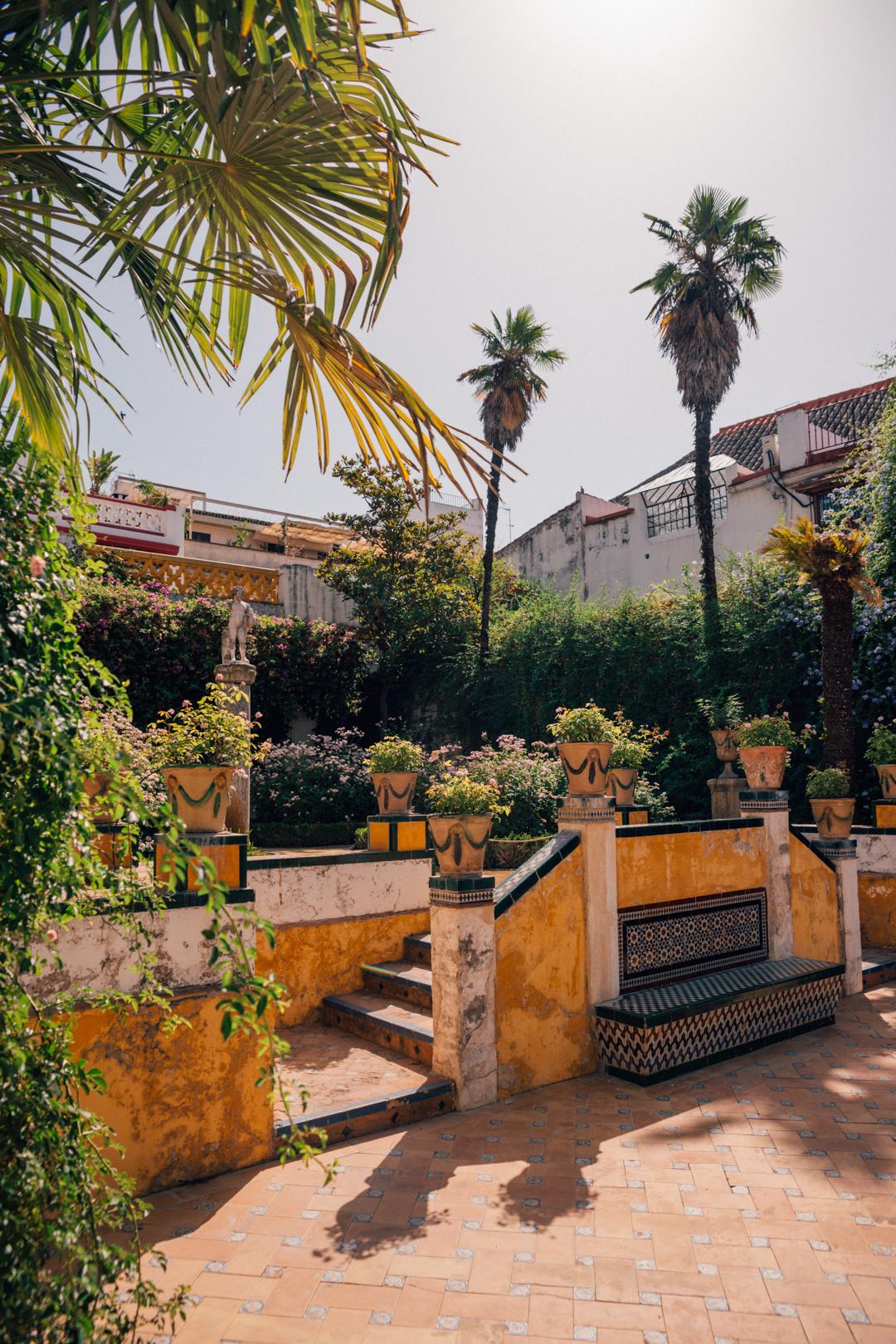 Casa de Pilatos in Seville, Spain