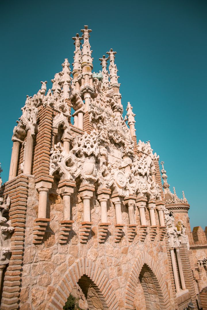 castillo colomares benalmadena andalusia spain