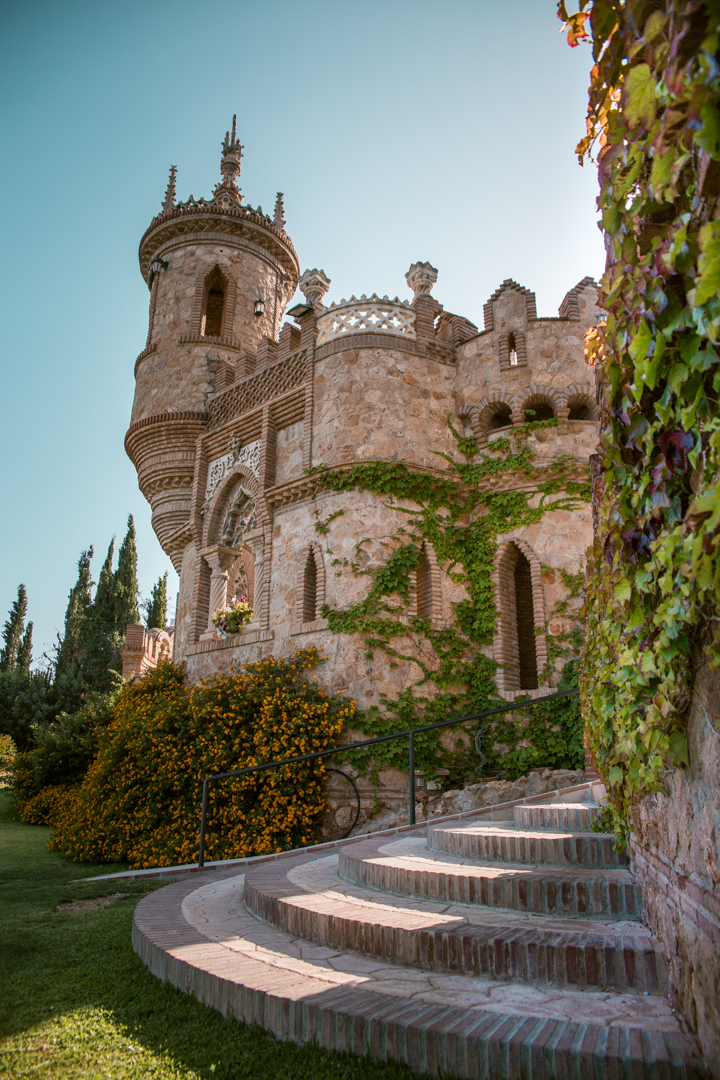 castillo colomares benalmadena andalusia spain