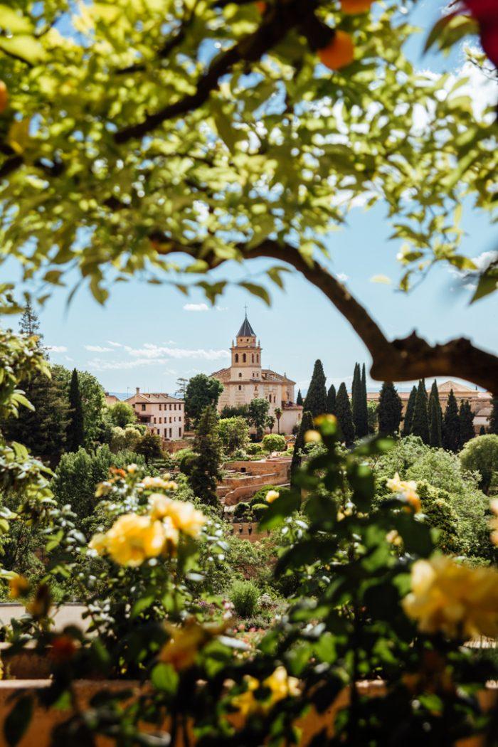 Generalife Palace & Gardens, Granada