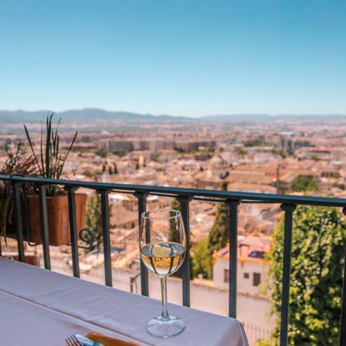 granada restaurants with view