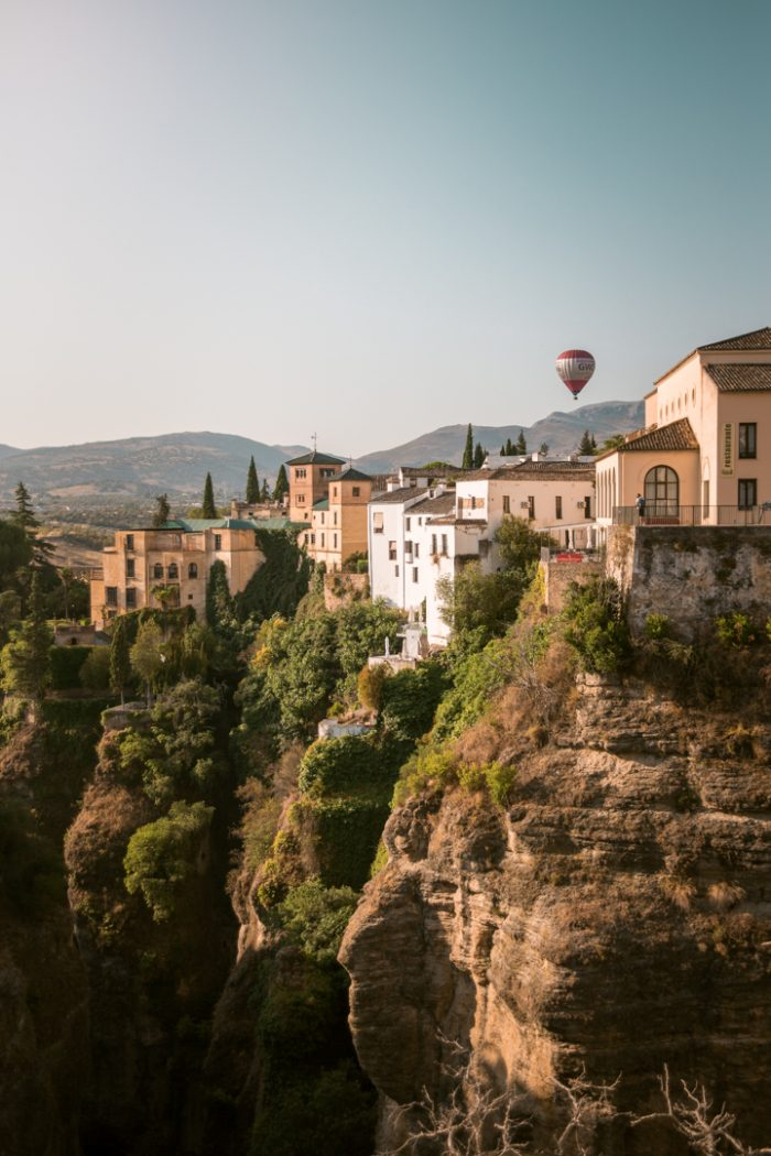 Room with a View at Hotel Don Miguel, Ronda