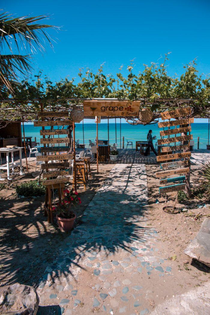 Grape by the Sea, Kato Pyrgos