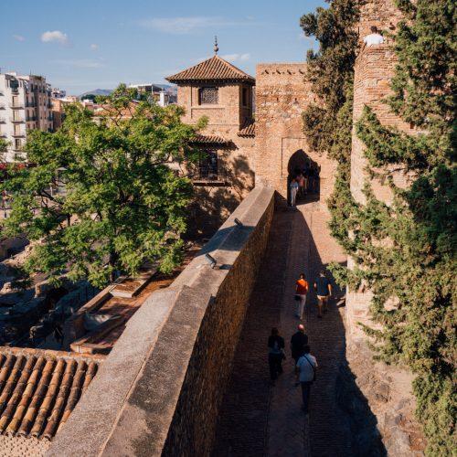 Alcazaba in Malaga