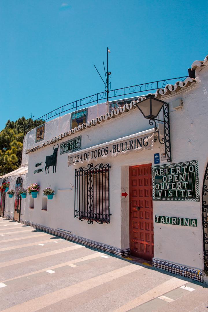 Plaze de Toros in Mijas Pueblo