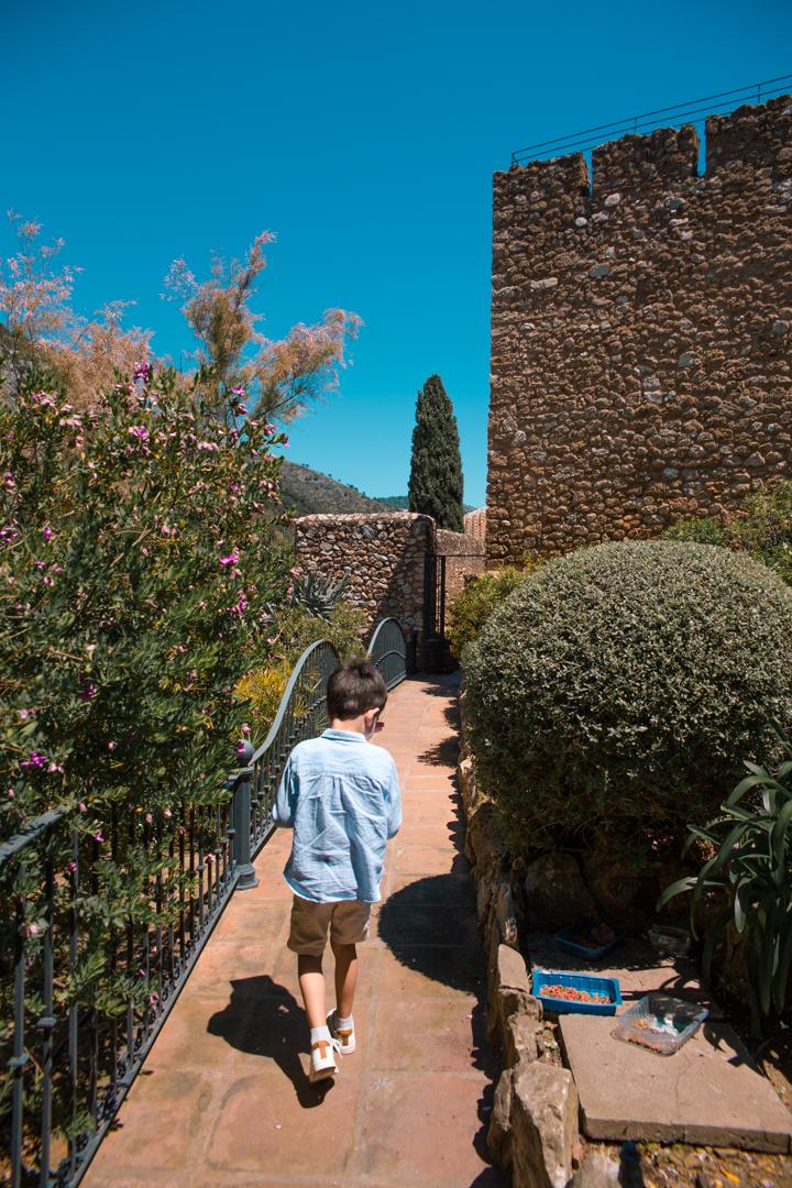 Viewing tower in Mijas Pueblo