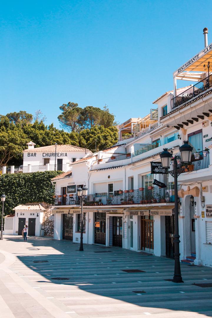 Mijas Pueblo in Spain, Andalusia
